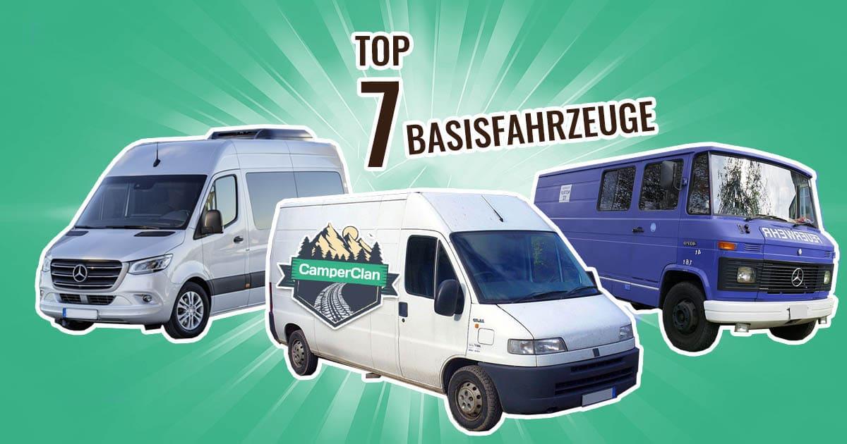 Top 7 Wohnmobil Basisfahrzeuge liste
