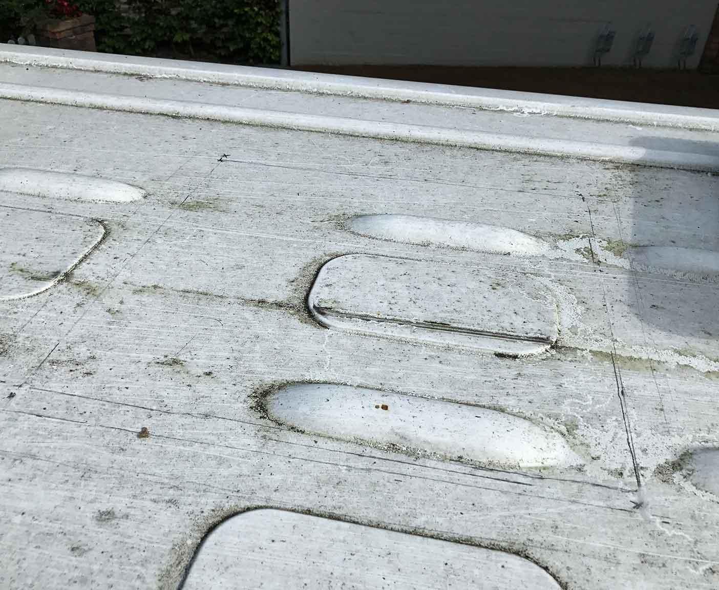 Bild Wohnmobil Dachluke selber-einbauen und anzeichnen